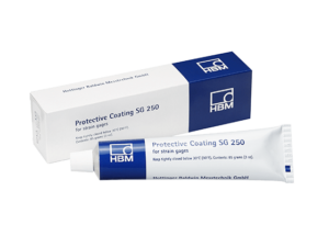 Защитное покрытие SG 250 для тензорезисторов - Полимеризованный материал водонепроницаем и имеет очень хорошую изоляцию...