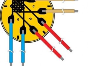 Миниатюрная розетка тензорезисторов Серия RF9 - Электрическая розетка тензорезисторов с многоуровневыми измерительными решетками...