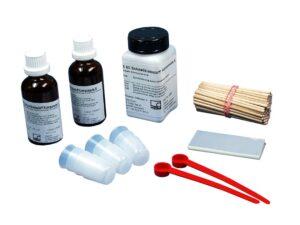 X60 - состоящий из метилметакрилата,является первым выбором для типичных экспериментальных применений в тензометрической установке...