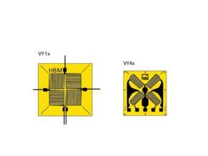 VY - имеется 4 измерительные решётки, расположенные под углом 90° друг к другу. Обычно полномостовые тензорезисторы применяются...