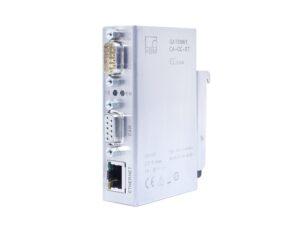 Шлюз CAN-Ethernet - Интерфейс Ethernet, Для связи AED/FIT с интерфейсами CANopen, Удаленное наблюдение/диагностика возможны через Ethernet...