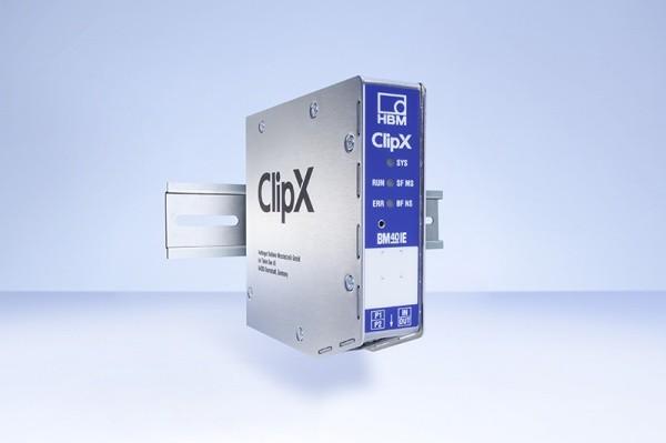 Промышленный усилитель ClipX HBM - Свободно конфигурируемый измерительный канал с параметризацией TEDS.
