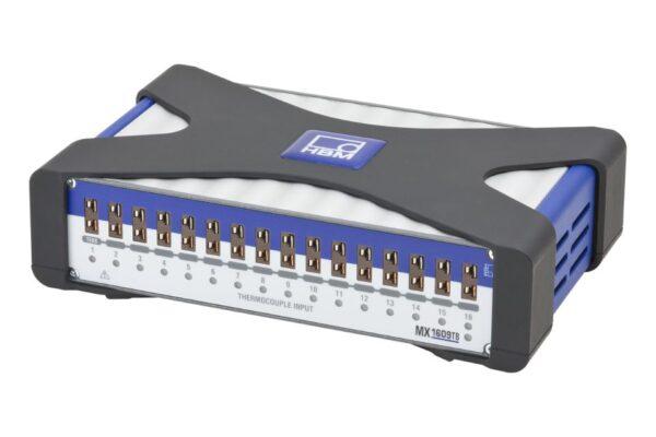 Усилитель для термопар К-типа MX1609TB HBM - 16 индивидуально настраиваемых электрически изолированных входов и др.