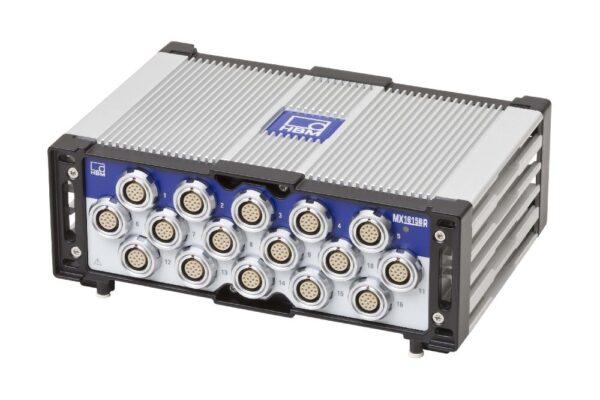 Cверхнадежный мостовой усилитель MX1615B-R - Возможность подключения тензодатчиков (мостовая, полумостовая и четвертьмостовая схемы)...