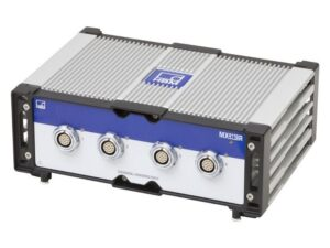 Высокодинамичный универсальный усилитель в защищённом исполнении SomatXR MX411B-R - Поддержка TEDS, Напряжение питания для активных датчиков..