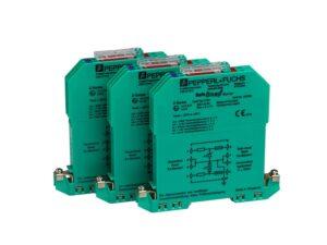 Защитные барьеры SD01A HBM - Три оптимизированных защитных барьера для взрывобезопасной установки согласно ATEX тензодатчиков HBM.