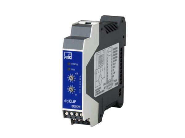 Цифровой усилитель digiCLIP DF30CAN. Цифровой усилитель HBM для задач промышленной автоматизации и контроля процесса производства.