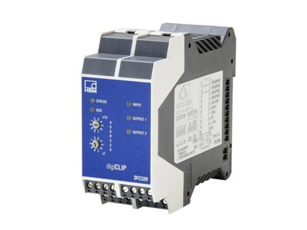 Цифровой усилитель digiCLIP DF31CAN. Цифровой усилитель HBM для задач промышленной автоматизации и контроля процесса производства.