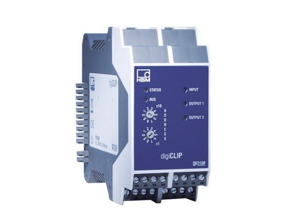 Цифровой усилитель digiCLIP DF31DP. Цифровой усилитель HBM для задач промышленной автоматизации и контроля процесса производства.