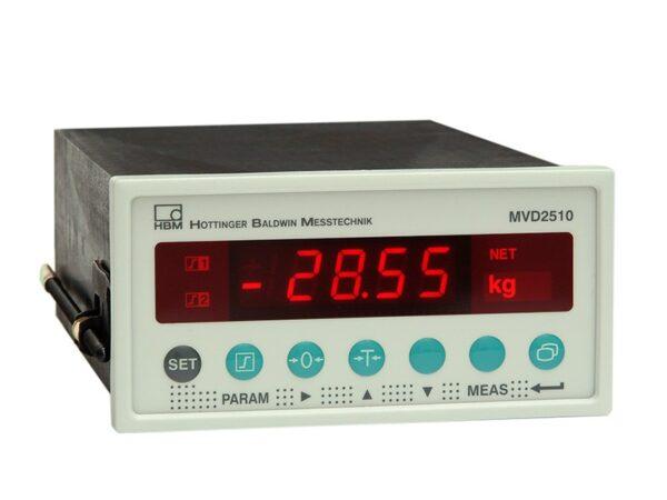 Усилитель для панельного монтажа MVD2510 для взвешивания контейнеров, бункеров и т.п. HBM - Решения для получения результатов.