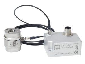 Датчик силы PaceLine CMC - Очень компактный датчик силы с промышленным электрометрическим усилителем, 2 калибруемых измерительных диапазона...