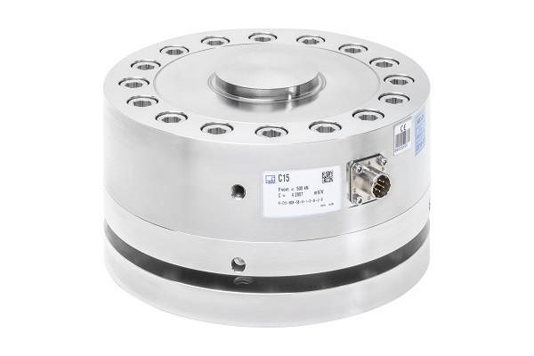 Датчик силы C15 - Датчик сжимающего усилия, Номинальная нагрузка от 2,5 кН до 1 MН, Класс 00 по ISO 376 в диапазоне измерения...