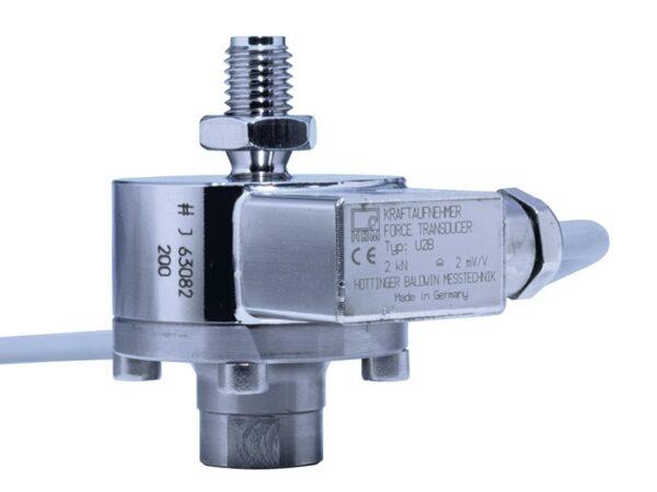 Датчик силы U2B - датчик из нержавеющей стали для измерения усилия растяжения/сжатия, встроенная компенсация воздействия...