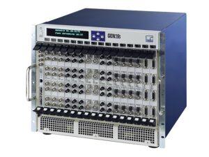 Система сбора данных GEN16t - мейнфрейм для монтажа в стойку 19'', 16 слотов для карт сбора данных, до 512 аналоговых каналов и тд.