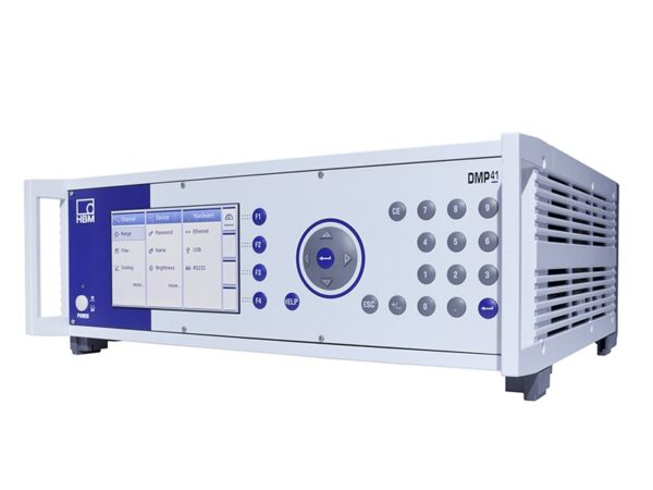 Цифровой прецизионный измерительный прибор DMP41. HBM - Решения для получения результатов, которым вы можете доверять.