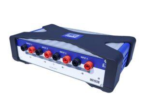 Модуль для измерения напряжения QuantumX MX403B - 4 индивидуально конфигурируемых входа: ±1000 В, ±100 В, ±10 В...