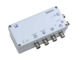 AED9201B - Интерфейсы RS232 или RS485, Два управляющих входа и четыре пороговых выхода, Шесть управляющих входов/выходов...