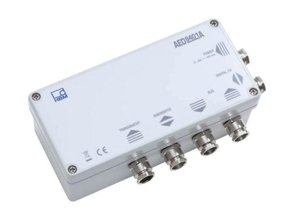 AED9401A - Интерфейсы CANOpen и DeviceNet, Для циклической и ациклической работы, Два управляющих входа и четыре пороговых выхода...