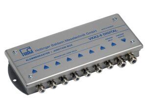 Клеммная коробка VKK2-8&VKK2R-8 - Угловая балансировка с помощью встроенной цепи резисторов, Тест ЭМС по EN 45501 и EN 61323...