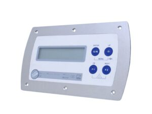 Цифровой весовой индикатор WE2107M - отчёт об испытаниях OIML до 6000 d, использование в качестве 1, 2 или 3-диапазонных весов...